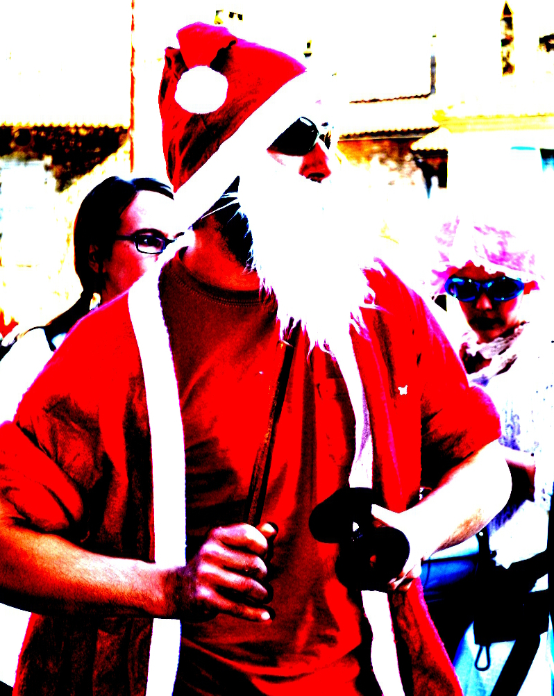 Samba Garage au Marché de Noël à Périgueux