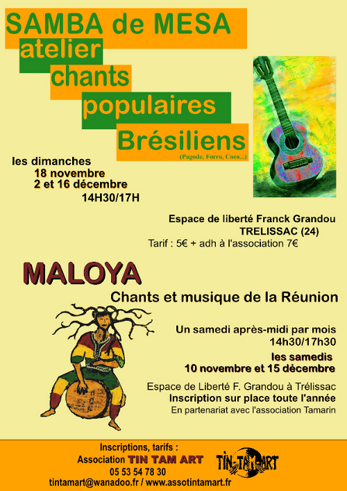 Maloya et Samba de Mesa