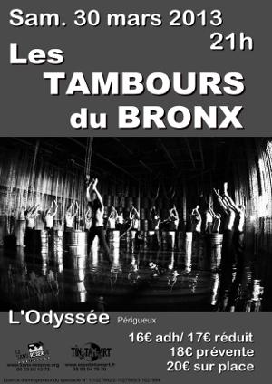 LES TAMBOURS DU BRONX EN CONCERT!!