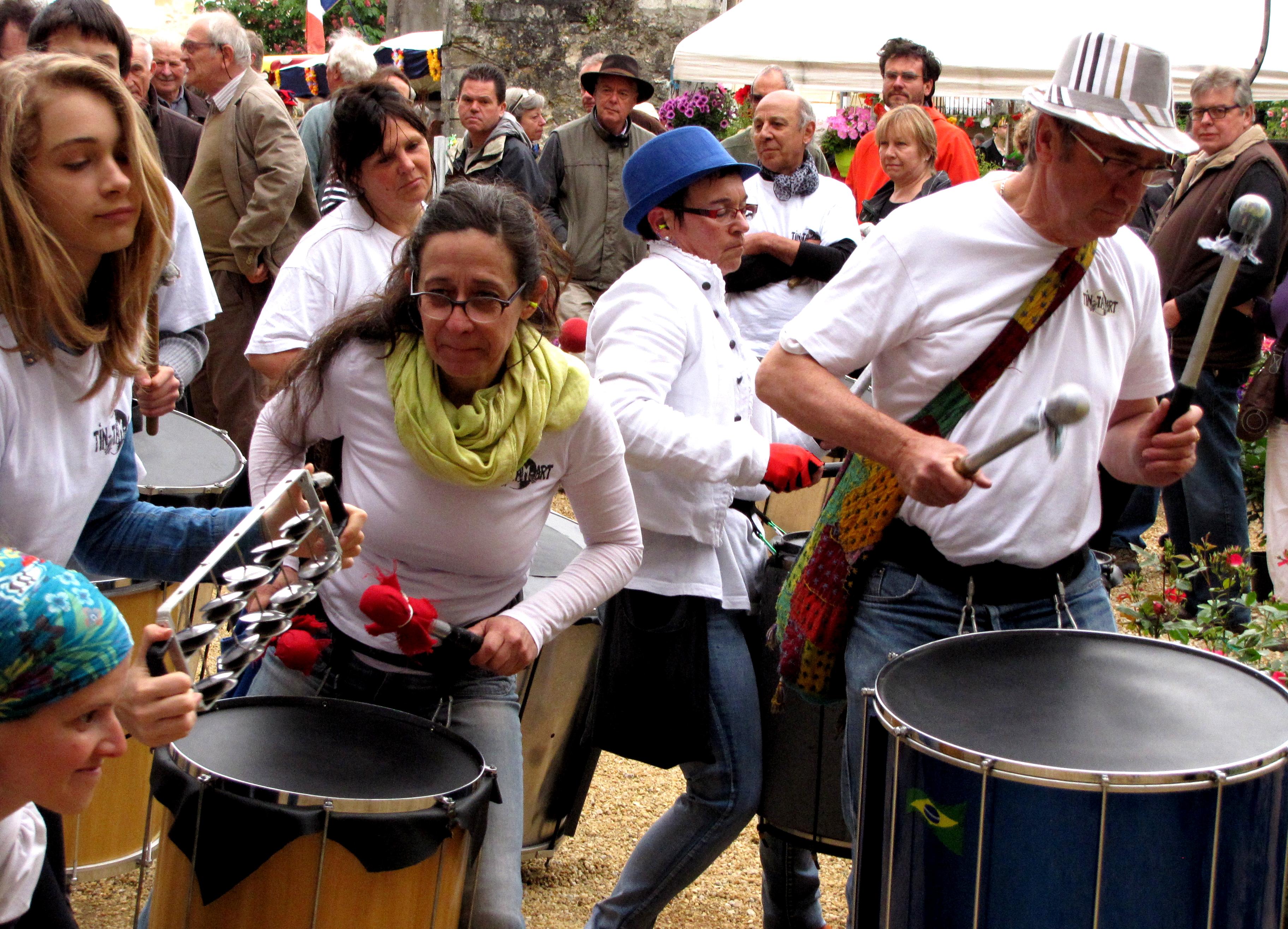 Samba d'Oc à la fête des voisins