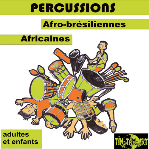 Percussions avec TIN TAM ART