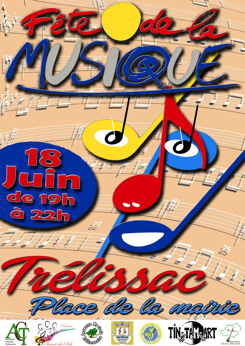 Fête de la Musique de Trélissac !