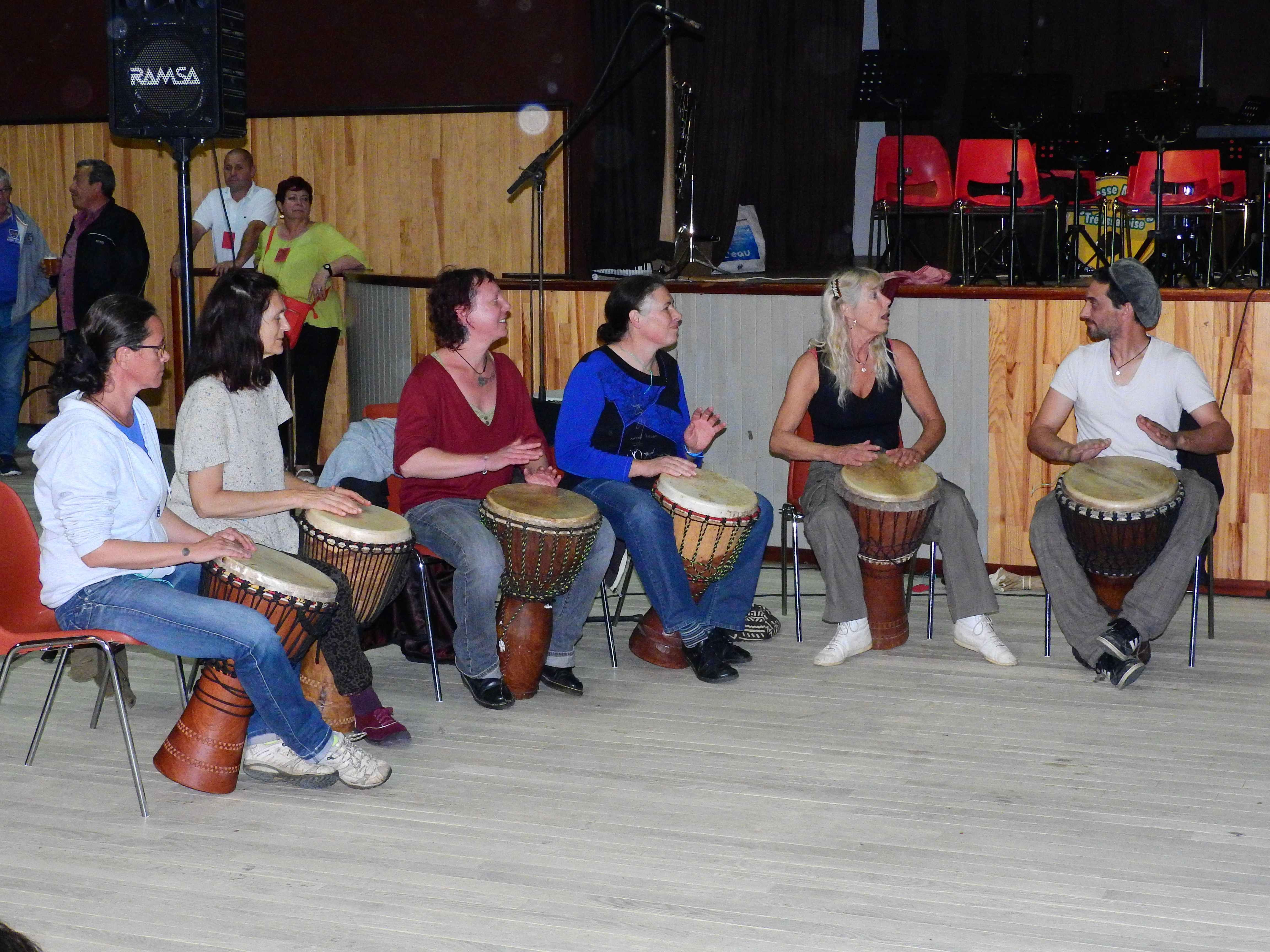 Ateliers de Percussions Africaines